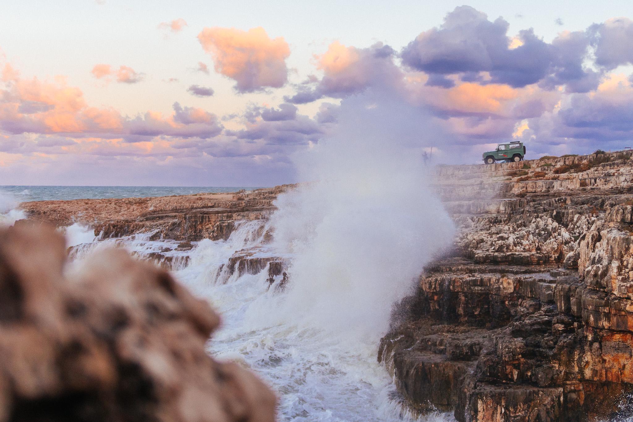 Dirigo Viaggi Avventura, La costa di Polignano a Mare
