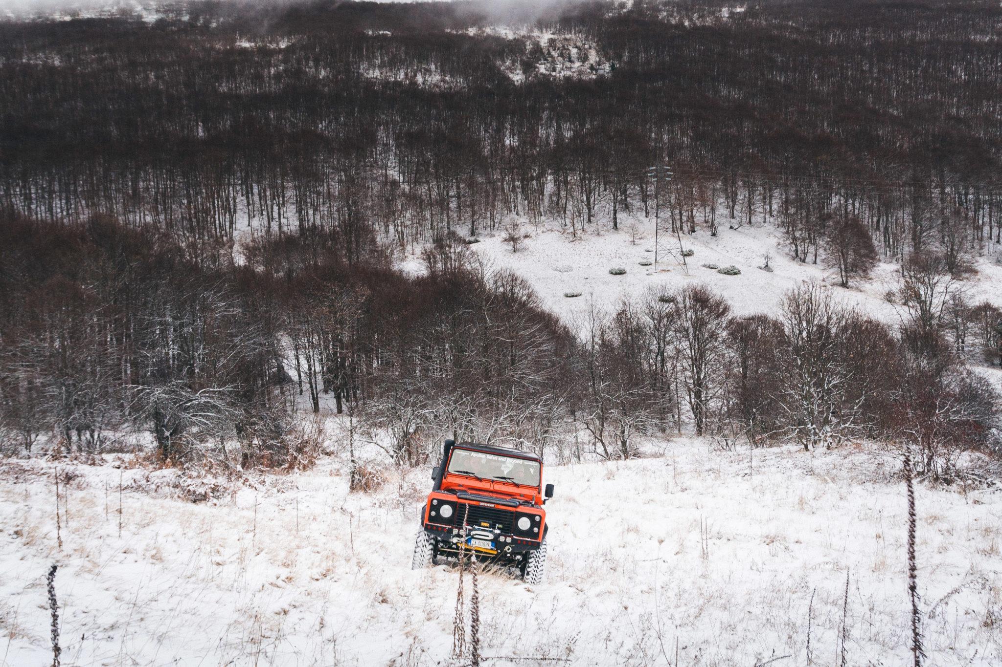 Dirigo Adventure Travel Offroad sulla neve
