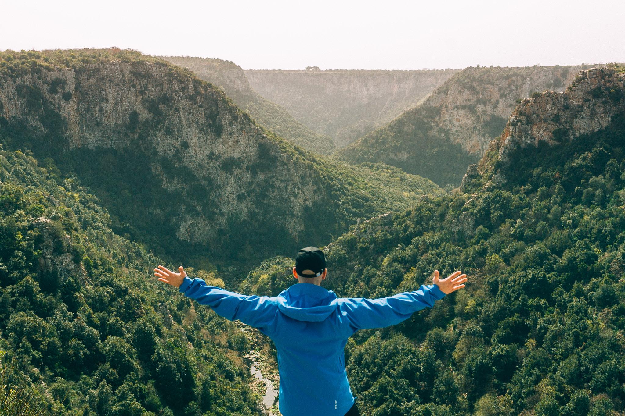 Dirigo escursione al Canyon di Laterza