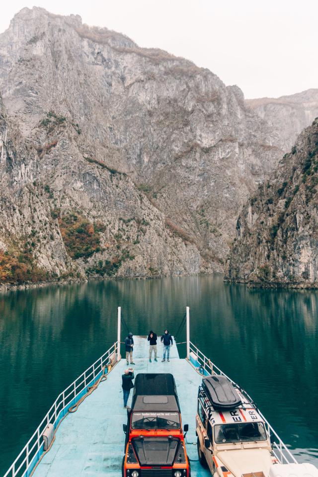 Dirigo Viaggio Avventura sul Battello Koman-Fierze, Valbona, Albania