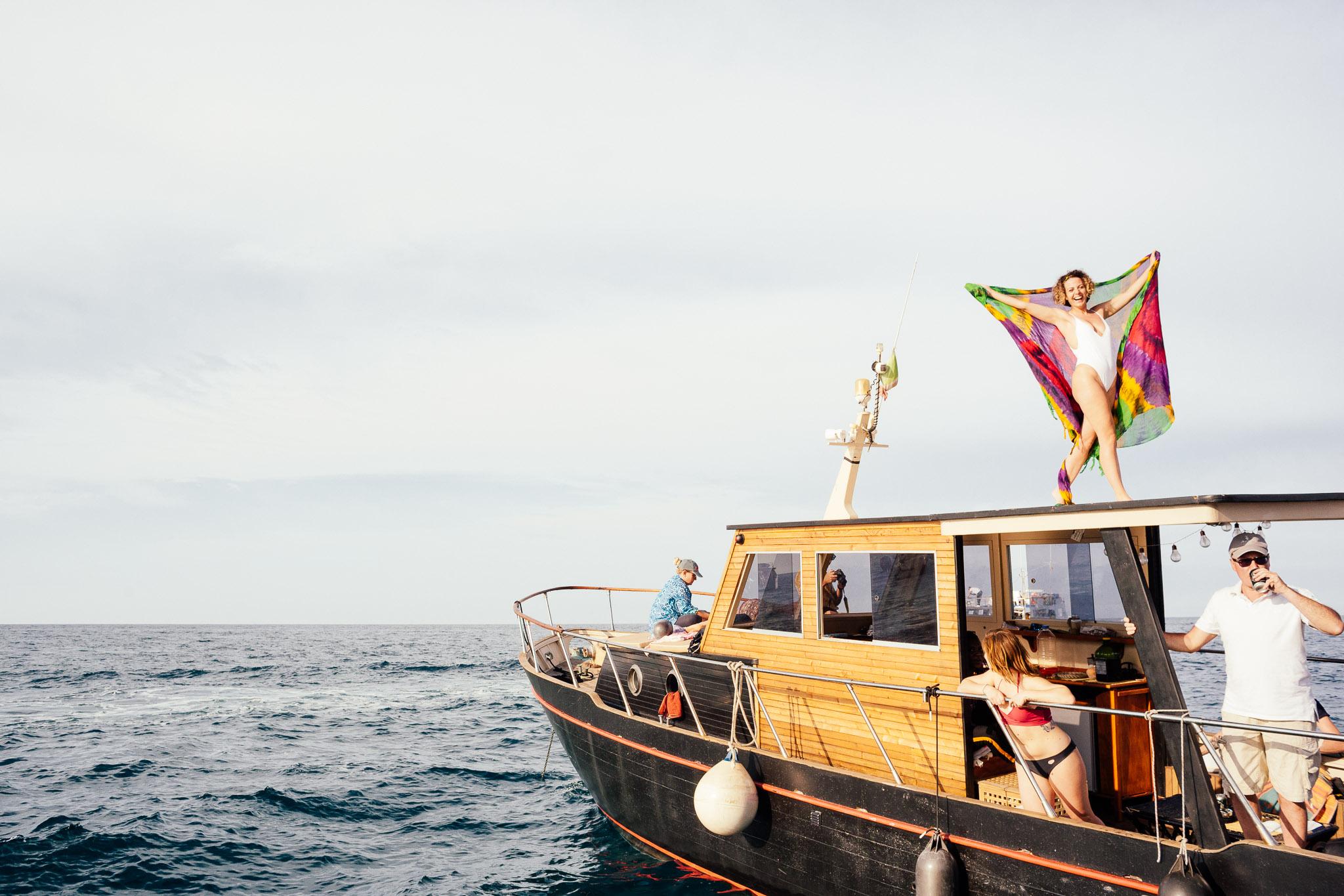 Carolina Boat Trip sulle coste di Polignano a Mare